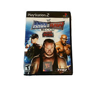 WWE SmackDown vs. Raw 2008 Featuring ECW (Sony PlayStation 2, 2007) Complete