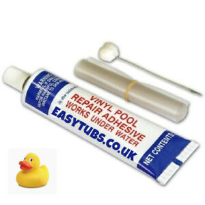 Inflatable Spa & Hot Tub Repair Kit - Under Water Glue PureSpa, Lazy Pools