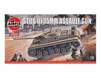 Airfix Vintage Classics Stug III 75MM Assault Gun 1:76 Model Kit