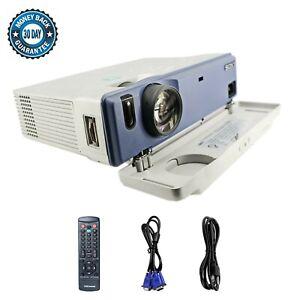 Sony VPL-CS1 SuperLite 3LCD Projector SVGA Portable w/Accessories bundle