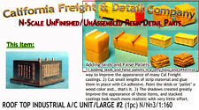 Rooftop Industrial A/C Unit #2-Large (1pc) N/Nn3/1:160-Scale California Freight