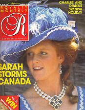 SARAH FERGUSON UK Royalty Magazine 9/97 Vol 6 No 11 PRINCES DIANA CHARLES