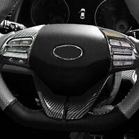 4x Carbon Look Volante Panel Cubierta Tapa Guarnición Para Hyundai i30 PD PDE