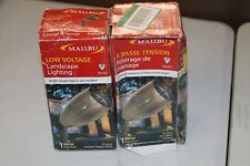 Bundle of 2 Malibu Copper Flood Light Low Voltage Landscape 8302-9605-01