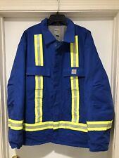 Carhartt Extreme FR Parka Jacket - Size 2XL Arctic 3M Reflector Workwear Coat