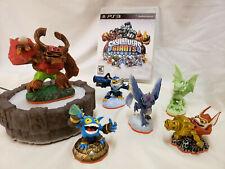 Skylanders Giants PS3 Multiple Figure Portal Game Lot Figurines