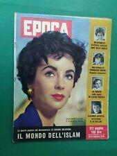 Période 1958 Liz Taylor + Sofia Loren + Francoise Sagan + Maria Callas + Frank