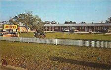 Cedarville MI~Blue Gables Motel~Past Long Picket Fence~Les Cheneaux Islands~1950