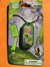 Disney Tinker bell necklace chain purple chain Mini dog tag pen gift #15