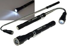 T1 - Teleskop Pick-Up Werkzeug mit LED Je 1 Magnet Kopf+Fuß, Schwanenhals