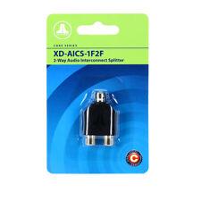 JL Audio XD-AICS-1F2F 2-Way Audio Interconnect Splitter Car Marine Adapter