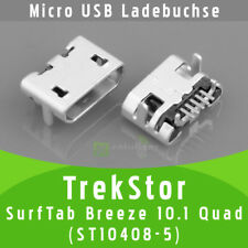 ✅ TrekStor SurfTab Breeze 10.1 Quad ST10408-5 USB DC Buchse Ladebuchse Connector