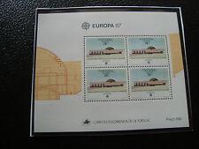 ACORES - timbre yvert et tellier bloc n° 8 n** (Z11) stamp