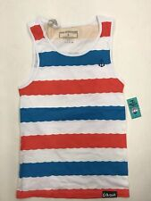 Pink Dolphin Wave Stripe Embroidered Dolphin Anchor Mens Large Nice New Rare
