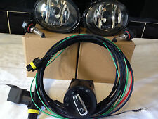 VW T5  T5.1  Transporter LED  Fog Light Kit 09 On Wards With Top Quality Harness