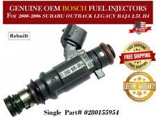 1 Fuel Injector OEM BOSCH for 2000-2006 SUBARU OUTBACK LEGACY BAJA 2.5L H4