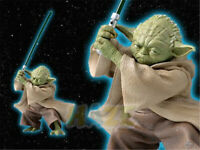"Star Wars The Force Awakens Yoda Fencing Style 5"" Figure Statue Toy Collection"