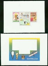 Barbuda 1978 World Cup Soccer/Balloon/Wright SS MASTER PROOFS