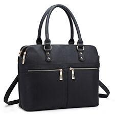 Miss Lulu Women Designer Handbags Shoulder Bags PU Leather Tote Zipper Design