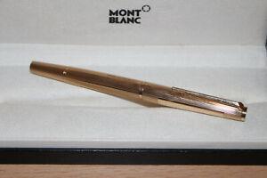 Montblanc Meisterstück N° 1276 Füller Gold 585er / 14 Karat massiv, Mont Blanc