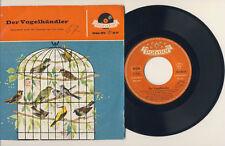 """DER VOGELHÄNDLER - Carl Zeller -  7"""" EPSingle - 1961 - Polydor"""