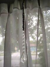 Handmade Hemp Rainbow Maker Light Catcher Glass Window Hanging