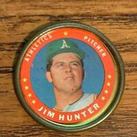 1971 Topps COINS #80 Jim Hunter - A's