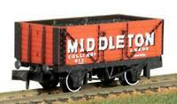 Peco NR-P423 N Gauge 7 Plank Wagon Middleton Colliery