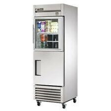 "True Ts-23-1-G-1-Hc~Fgd01 27"" Half Door Stainless Steel Reach In Refrigerator"