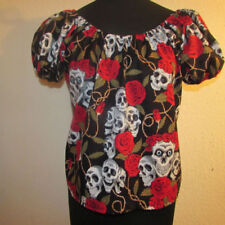 e9160d3afc4387 Skull Gothic Tops   Shirts for Women for sale