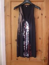 River Island - Gorgeous Black Sequined Top - Size 6
