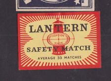 Ancienne  étiquette  Allumettes Finlande ? BN29708 Lanterne