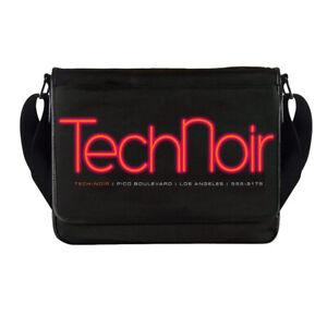 Tech Noir Messenger Bag Terminator Movie Skynet Cyberdyne Systems T800 Arnie