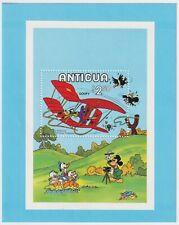 Mint 1979 Antigua - Goofy, Walt Disney - $2.50 Minisheet