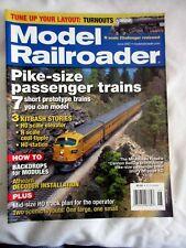 MODEL RAILROADER June 2007 PIKE-SIZE PASSENGER TRAINS~7 SHORT PROTOTYPE TRAINS..