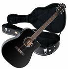 Rocktile D-60CE Westerngitarre Tonabnehmer Akustikgitarre SET Gitarrenkoffer for sale