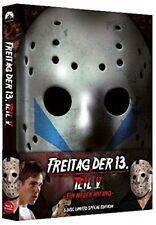 Blu Ray/DVD Freitag der 13. Teil 5 Uncut Mediabook - NEU - wattiert