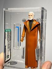 AFA 85 Kenner 1977 Star Wars Loose Ben Obi Wan Kenobi White Hair Clean New Case