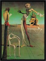 Ton Schulten Night falls I Poster Bild Kunstdruck im Alu Rahmen schwarz 80x60cm