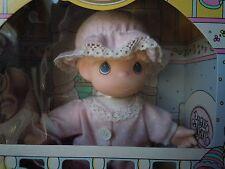"Vintage Rose Art My First Precious Moments Baby Girl 6"" Vinyl Doll 3+yrs NIB '92"