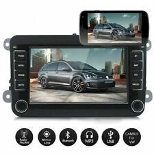 "For VW Golf MK5 MK6 Jetta 7"" Car Stereo Radio Sat Nav GPS Bluetooth"