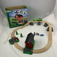 Brio 33790 Countryside Horse Set Wooden railway set - Battery Train