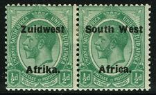 SG 29 SOUTH WEST AFRICA 1925 - HALFPENNY GREEN - MOUNTED MINT