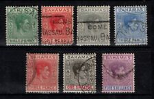 Bahamas 1938 Definitive selection to 5/-  SG149-56 Used