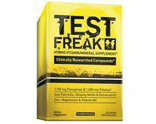 TEST FREAK 120 CAP. PHARMA - INCREASES TESTOSTERONE, SEX DRIVE & PERFORMANCE