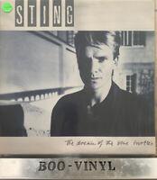 STING Dream Of The Blue Turtles A&M Lyric Insert & Inner UK VINYL LP EX CON
