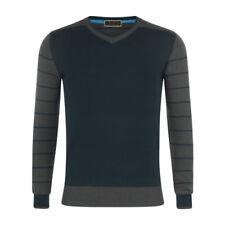 Sudaderas de hombre azul color principal gris 100% algodón