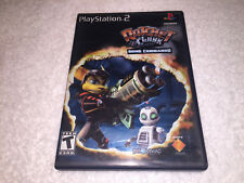 Ratchet & Clank Going Commando (PlayStation 2, 2003) PS2 Black Label Complete Ex