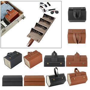 Folding Sunglasses Hanging Organizer Collector Case Eyeglasses Storage Box
