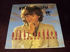 "NIKKI SUDDEN ""THE JEWEL THIEF"" LP 1ST PRESS SEALED IN SHRINK UFO 1991 UK ROCK"